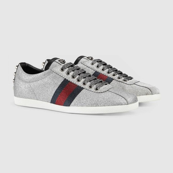5809f599ba17 Gucci Glitter Sneakers
